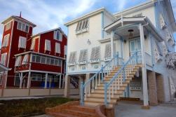 Beautifully restored colonial homes, Georgetown, Guyana -- Karina Noriega