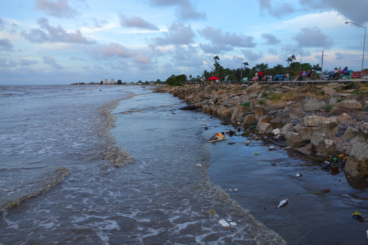Not-so-beach, Georgetown, Guyana -- Karina Noriega