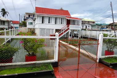 Restored home, Georgetown, Guyana -- Karina Noriega