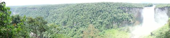 Panorama @ Kaeiteur Falls, Guyana -- Karina Noriega