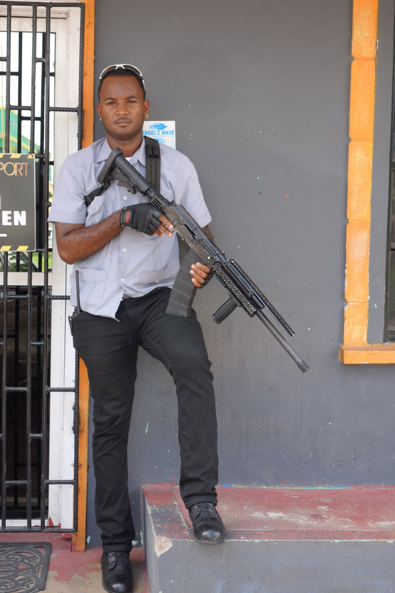 Georgetown, Guyana -- Karina Noriega