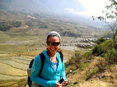 A wanderer through the paddies, Vietnam -- Karina Noriega