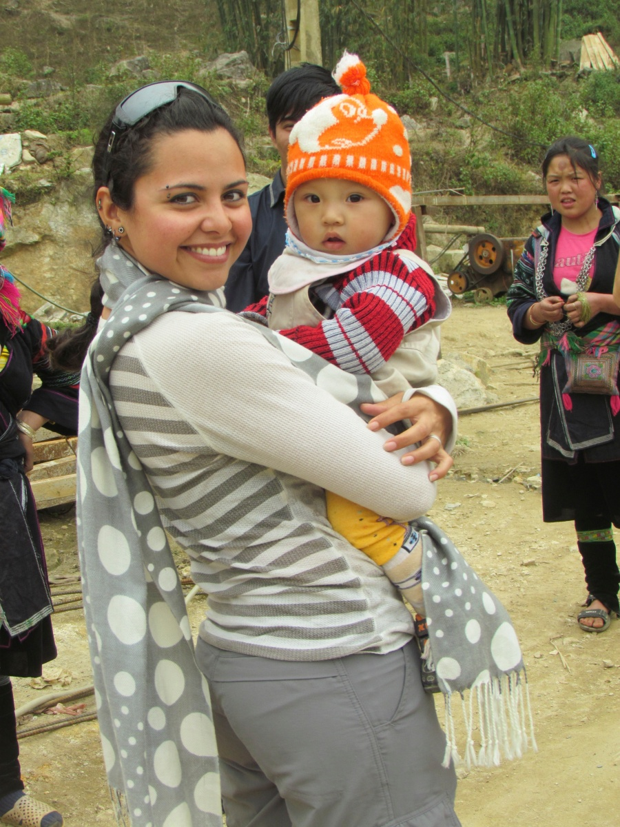 H'mong baby, Northern Vietnam -- Karina Noriega