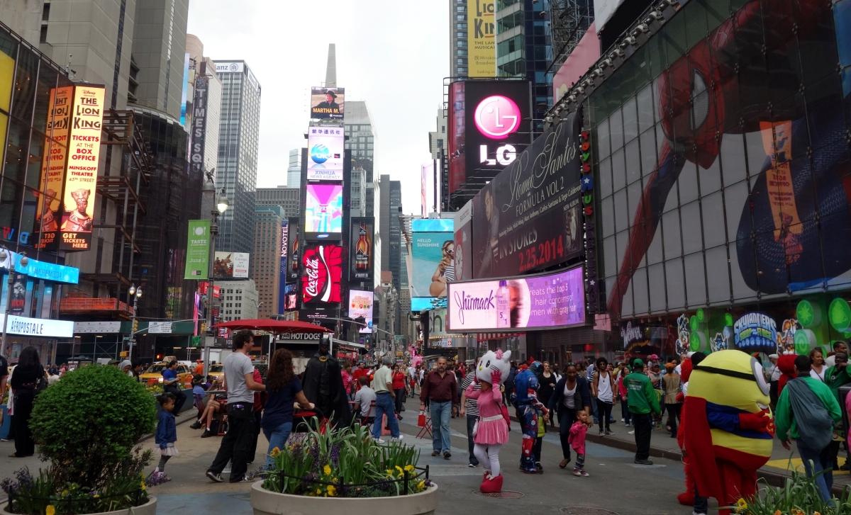 Times Square Cacophany - NYC, USA - Karina Noriega
