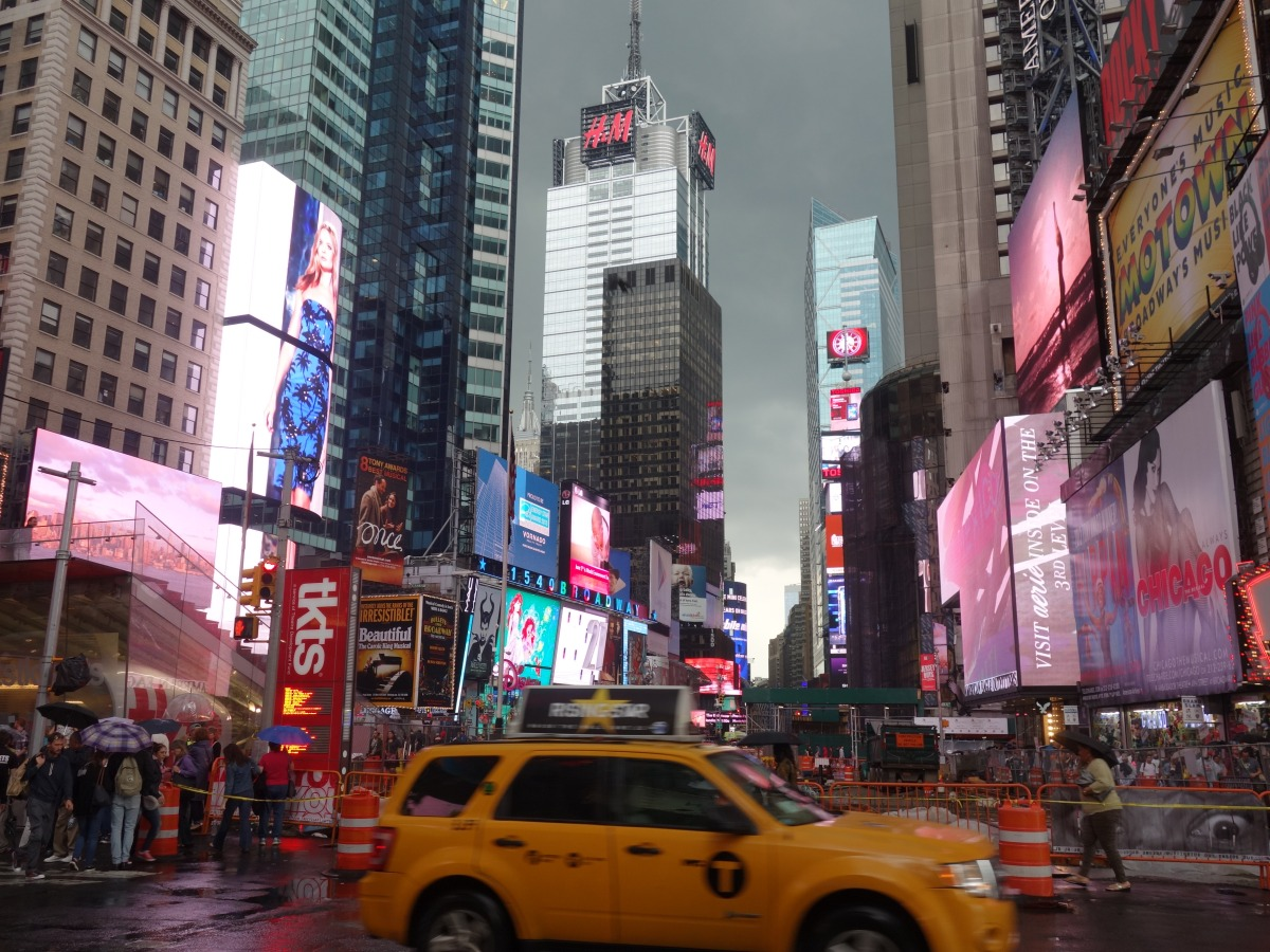 Times Square is FAMOUS - NYC, USA - Karina Noriega