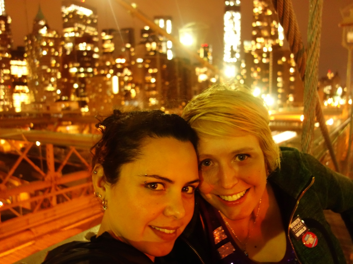 April and Karina do NYC, USA - Karina Noriega