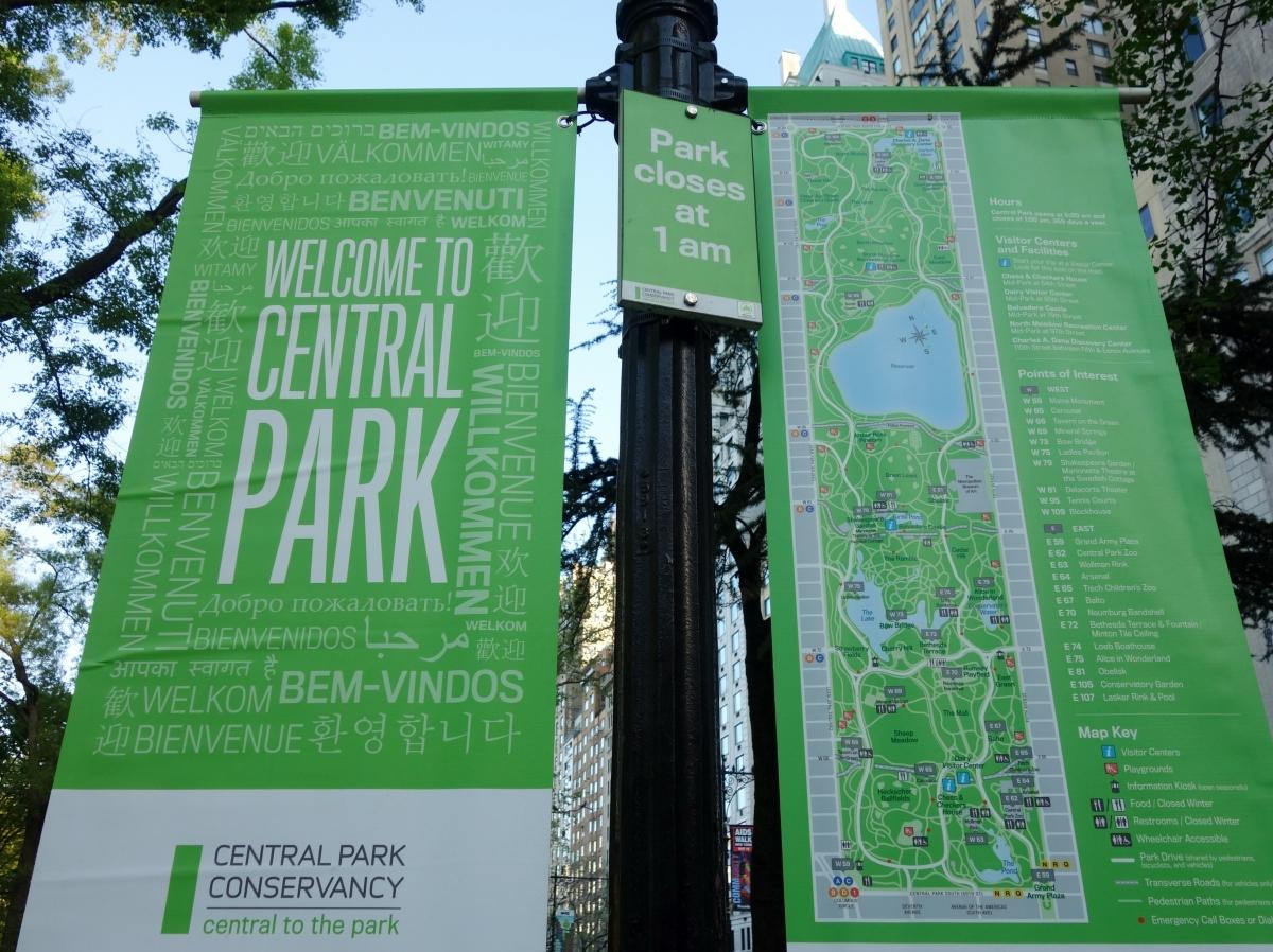 Central Park Map, Manhattan, NY, USA - Karina Noriega