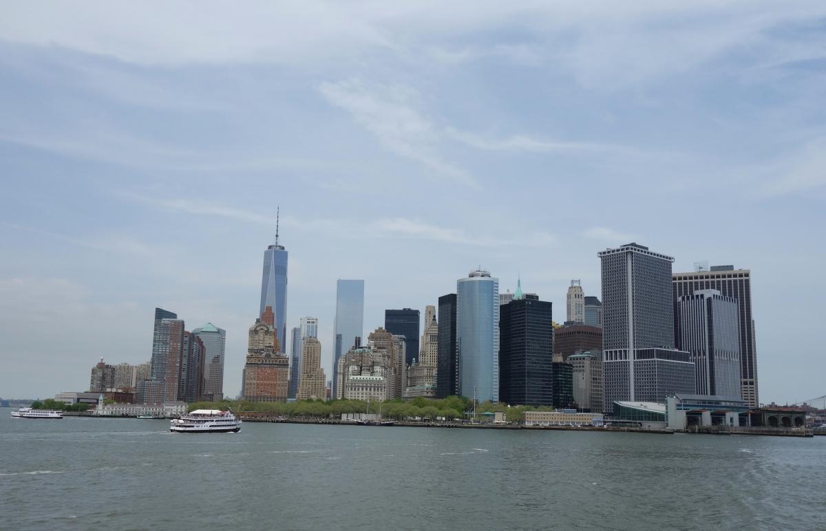 Manhattan skyline from the Staten Island Ferry, NY, USA - Karina Noriega
