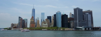 Manhattan skyline from the Staten Island Ferry, NY, USA - Karina Noriega