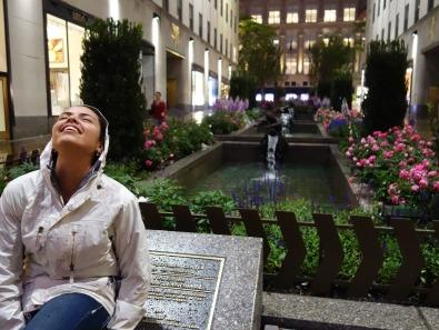 Soaking up the Rain, NY, USA - Karina Noriega