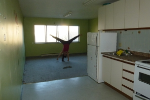 Cartwheels In an Empty House, Hamilton - Karina Noriega