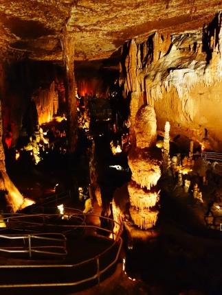 Cathedral Room paths, Blanchard Springs Cavern, Arkansas - Karina Noriega