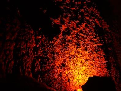 Coral formations (popcorn), Blanchard Springs Cavern, Arkansas - Karina Noriega