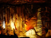 Lighted Blanchard Springs Cavern, Arkansas - Karina Noriega