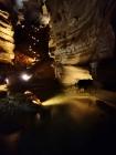 Beautifully light path through the lower level cavern, Blanchard Springs Cavern, Arkansas - Karina Noriega
