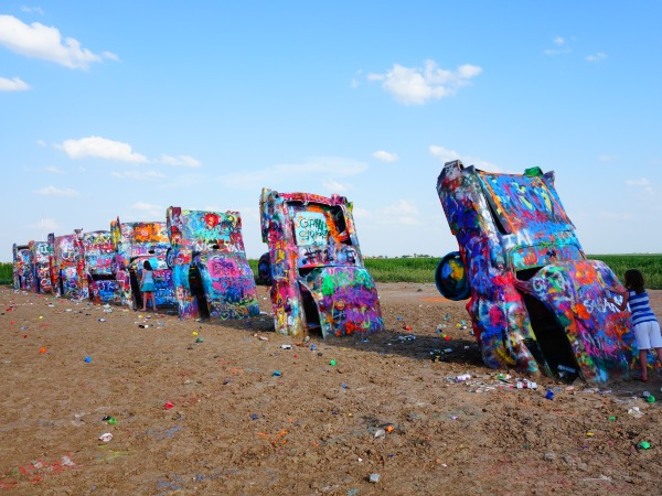 Cadillac Ranch, Texas, USA - Karina Noriega