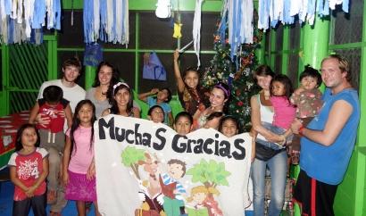 Muchas Gracias @ Casa Guatemala, Rio Dulce, Guatemala - Karina Noriega
