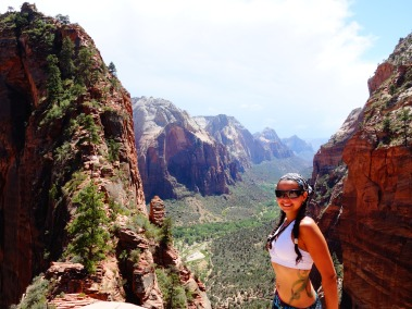 Angel's Landing, Zion National Park, Utah, USA - Karina Noriega
