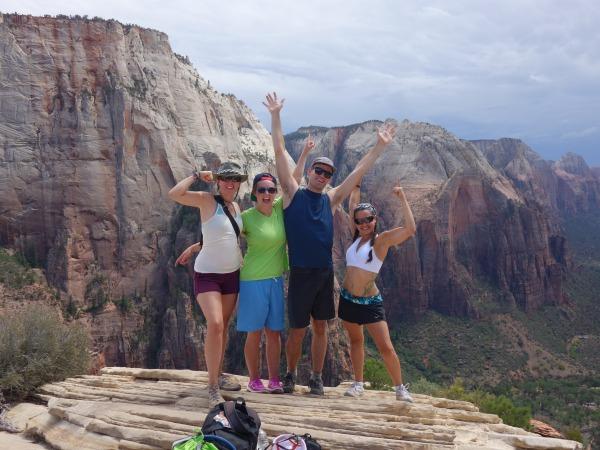 Angel's Landing, Zion National Park, Utah, USA - Karina Noriega