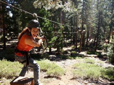 @ North Tahoe Treetop Adventure, California, USA - Karina Noriega