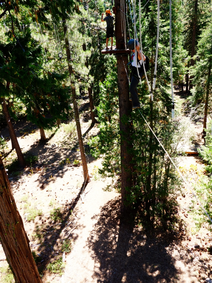 @ North Tahoe Treetop Adventure, California, USA - Karina Noriega
