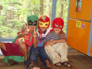 My heroes @ Casa Guatemala - Karina Noriega