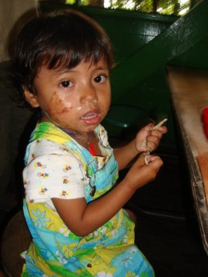 I can't believe how much she's grown @ Casa Guatemala - Karina Noriega *From my original 2010 visit.