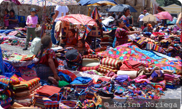 Typical Market -- Guatemala -- Karina Noriega
