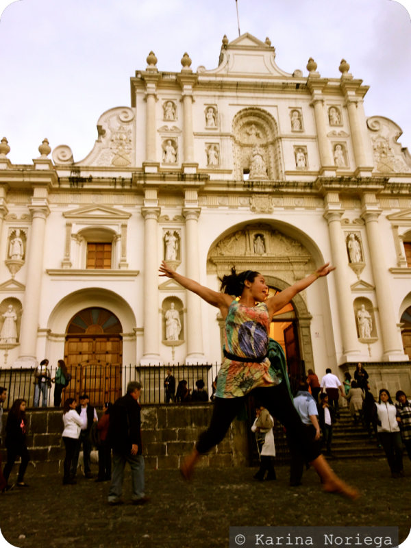 Cathedral at Parque Central in Antigua -- Guatemala -- Karina Noriega