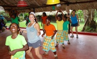 Their energy and spirit, and their insistence lured us into dancing along with the Santigron people - Santigron, Suriname -- Karina Noriega