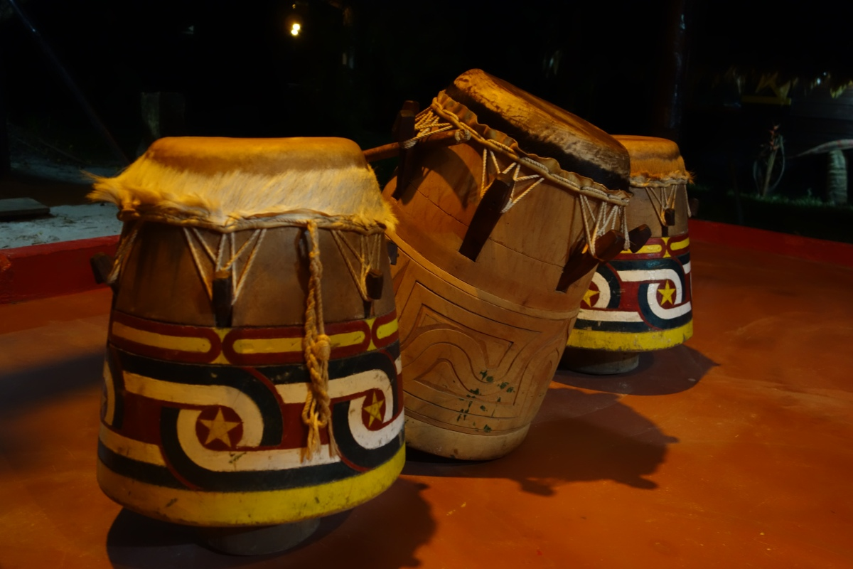Drums of Santigron, Suriname -- Karina Noriega