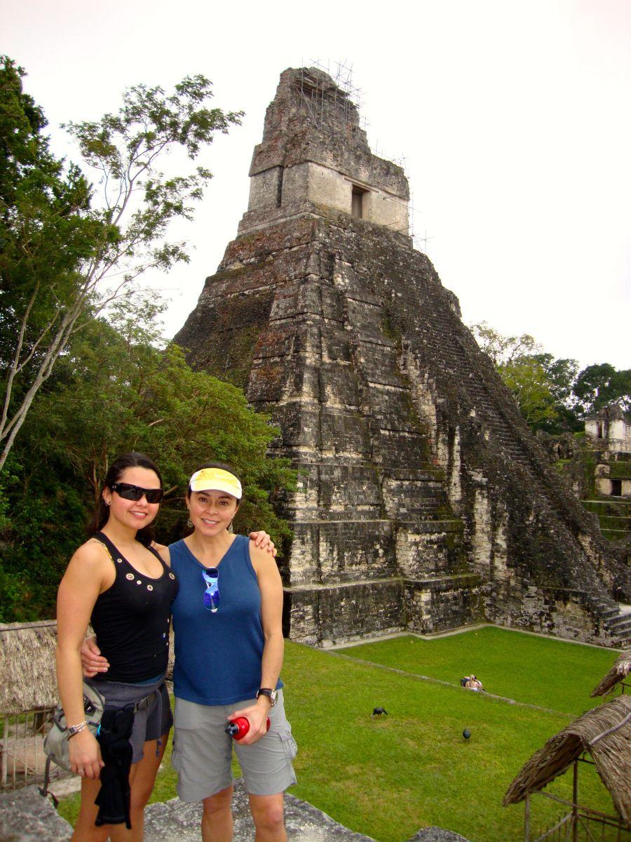 Triumphant return to Tikal with my mom in 2012 -- Guatemala -- Karina Noriega