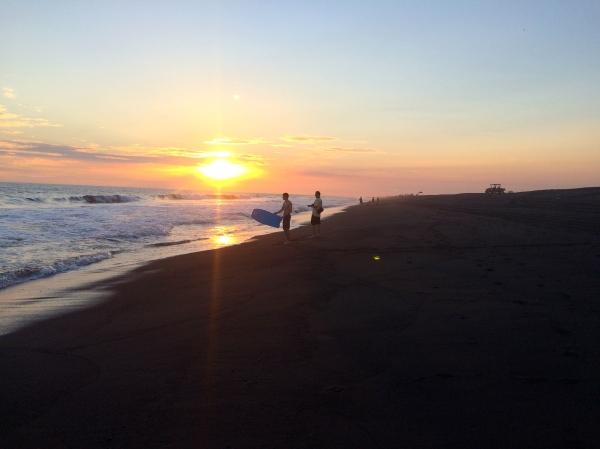 Pacific Ocean Sunset -- Karina Noriega