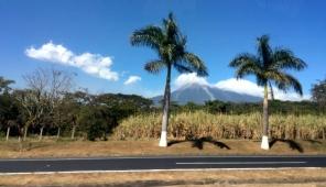 Volcan de Fuego looms in the background -- Karina Noriega
