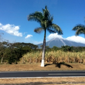 Volcan de Fuego looms in the background -- Karina Noriega
