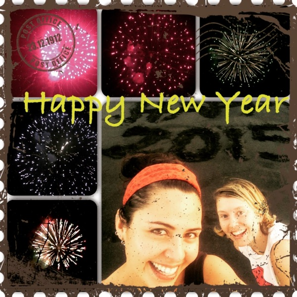 Happy New Year's 2015 from Karina and April