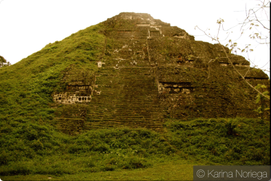 Mayan Temple prior to excavating -- Guatemala -- Karina Noriega