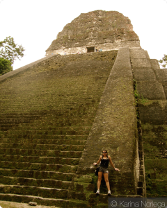 Revisiting the temples of Tikal -- Guatemala -- Karina Noriega
