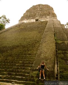 Revisiting the temples of Tikal -- Guatemala -- Karina Noriega