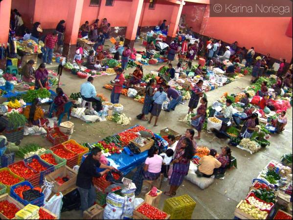 Vegetable Market, Chichicastenango -- Guatemala -- Karina Noriega
