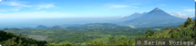 Volcano Panorama viewed from atop Volcan Pacaya -- Guatemala -- Karina Noriega