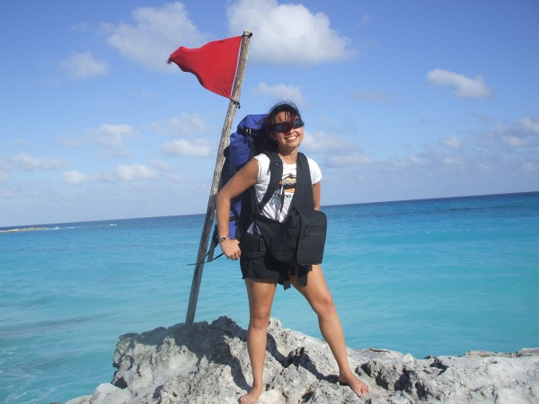 My first solo backpacker adventure down the Yucatan Peninsula, Mexico -- Karina Noriega