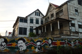 Downtown Paramaribo, Suriname -- Karina Noriega