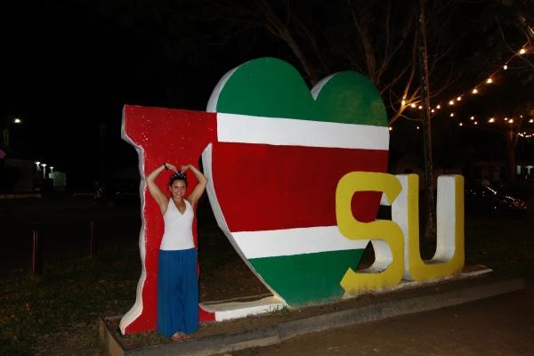 I love Suriname - Paramaribo, Suriname -- Karina Noriega