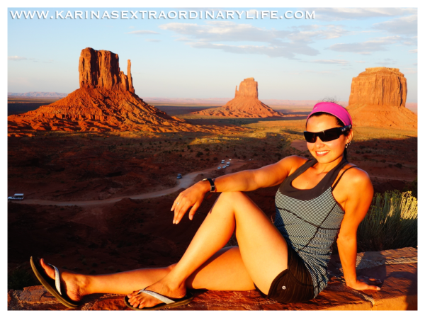 Monument Valley at Sunset, Utah, USA -- Karina Noriega