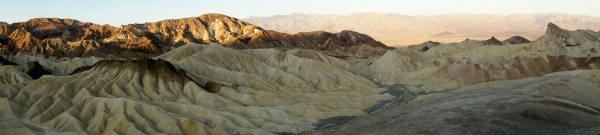 Zabriskie Point, Death Valley, California, USA -- Karina Noriega