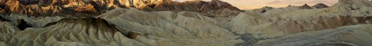 Zabriskie Point, Death Valley, California, USA -- Karina Noriega