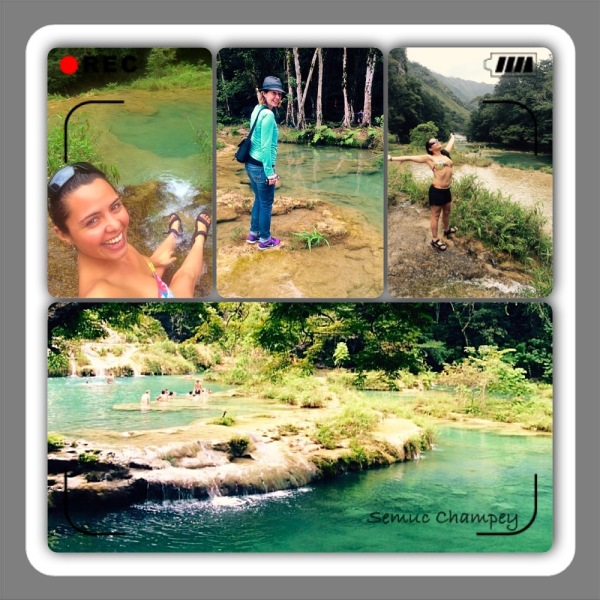 Semuc Champey, Guatemala get my vote for natural wonder of the world.-- Karina Noriega