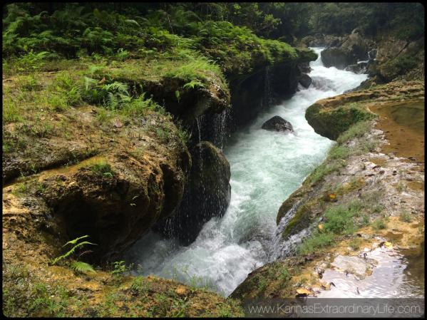Río Cahabón as it plunges into the caverns below Semuc Champey, Guatemala -- Karina Noriega
