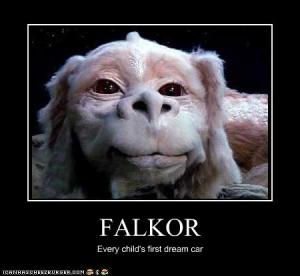 Falcor, the actor. Thanks to www.icanhascheezburger.com for reading my mind! This photo was too perfect to not share!